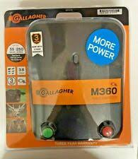Gallagher Fencemaster Junior Fence Energizer Electric Controller G331404 F28 For Sale Online Ebay