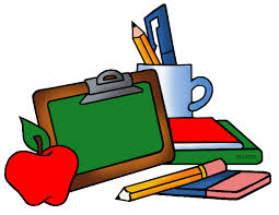 School Clip Art by Phillip Martin, School Supplies