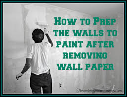 28 remove wallpaper and paint walls