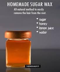 sugaring sugar wax hair removal at