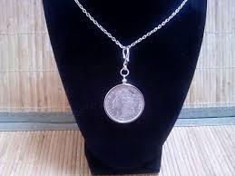 morgan silver dollar necklace pendant