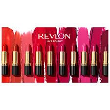 revlon super rous lipstick swatches