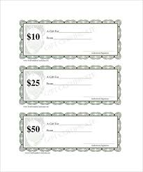 blank gift certificate template free