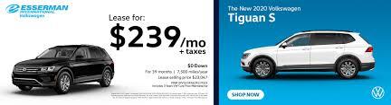 new volkswagen lease finance specials