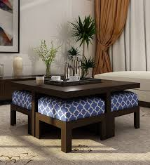 trendy coffee table with four