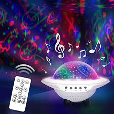 Star Night Light Projector For Kid S Room Rotating Color Changing Lamp With Remote Control Usb For