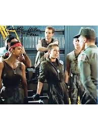 COLETTE HILLER as Corporal Ferro - Aliens