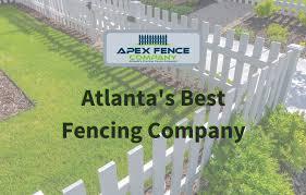 Apex Fence Company Atlanta Fence Company