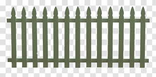 Picket Fence Synthetic Gate Clip Art Home Fencing High Resolution Clipart Transparent Png