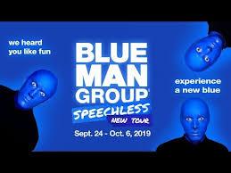 blue man group schless september