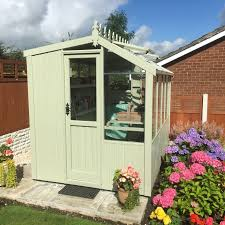 wooden suffolk potting shed