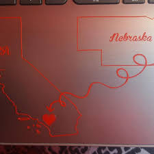 Home Away From Home State Decals Custom Vinyl Car Truck Window Laptop Customvinyldecals4u
