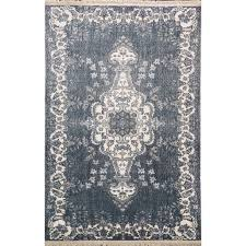 Benissimo Cotton Printed Modern Design Area Rug Soft And Durable Living Room Dining Room Kids Room And Kitchen 3x5 Navy Walmart Com Walmart Com