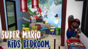 Sims 4 Speed Build Super Mario Kids Bedroom Youtube