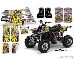 Amr Racing Graphics Kit Quad Decal Sticker Wrap Im Killers Yamaha Banshee 350 87 05