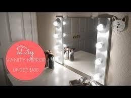 diy vanity mirror w lights you