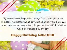 cute happy birthday little girl wishes to make her special