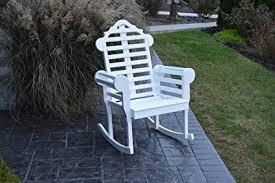 country outdoor marlboro porch rocker