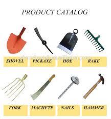 shovel spade gardening hand tools