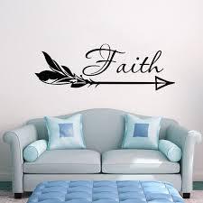 Decal House Arrow Faith Wall Decal Wayfair