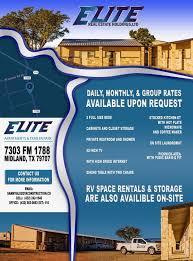 elite apartments and trailer park
