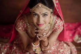 dulhan makeup indian bridal makeover