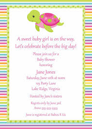 Printable Turtle Girl Baby Shower By Noteworthyprintables On Etsy