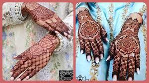 arabic bridal mehndi design 2019