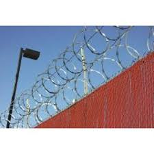 Perimeter Security Fence Protected By Laser Modules Lase Modules Slm Flm Security Military Perimetre Guarding