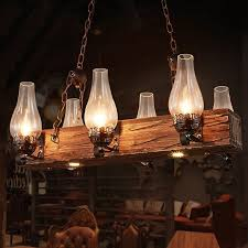 industrial loft dark distressed wood