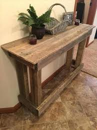 15 simple diy console tables