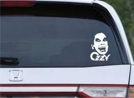 Ozzy Osborne Die Cut Decal Vinyl Sticker Texas Die Cuts
