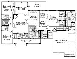house plan 59073 traditional style