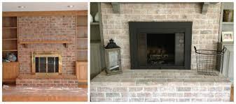 paint brick fireplace belezaa