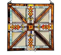 stained glass panel for windows sun