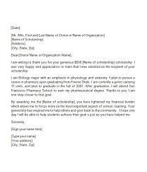 letter for nursing scholarship