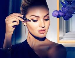 candice swanepoel turns up the glam in