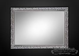silver rectangle wall mirrors mirror