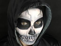 how to do skeleton makeup you