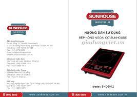 Bếp hồng ngoại cơ Sunhouse SHD6012 tại giadungviet.vn bảo hành hãng