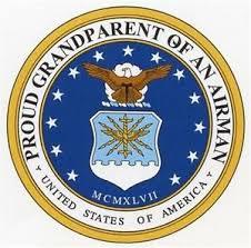 5 5 Proud Grand Parent Of An Airman Car Magnet Vinyl Decal Air Force Home Garden Decor Decals Stickers Vinyl Art Ayianapatriathlon Com