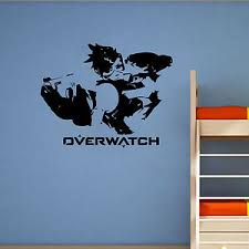 Overwatch Tracer Wall Art Gaming Graphic Large Vinyl Decal Sticker Ebay