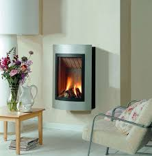 contemporary wall mounted gas stove