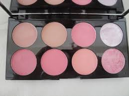 makeup revolution blush palette review