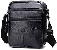 mens shoulder handbags retro casual