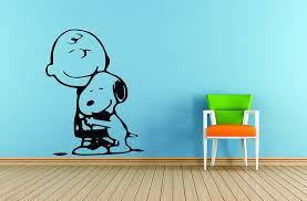 Amazon Com Charlie Brown And Snoopy Wall Vinyl Art Decal Peanuts Cartoon Kids Bedroom Stickers Decals Childs Tv Characters Patty Shermy Snoopy Violet Gray Linus Van Pelt Decals Kids Hugs Size 20x20 Inch Home Kitchen