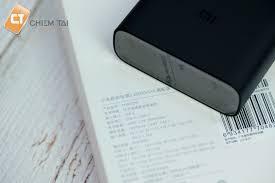 Pin sạc dự phòng 20000mAh gen 3 Xiaomi