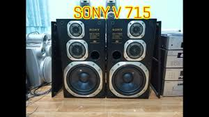 Thanh lý cặp loa đại Sony V 715 phối ghép với các dàn thiếu loa nghe nhạc  karaoke vô tư 0938484360 - YouTube