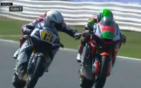 Romano Fenati sacked by Moto2 team after grabbing rival's brake lever