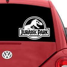 Jurassic Park Car Decals The Decal Guru